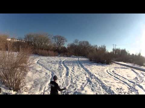 Riverpark Disc Golf Course in the Fall and Winter