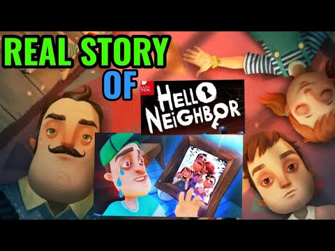 Real story of hello neighbour | where is his family | full story of hello neighbour