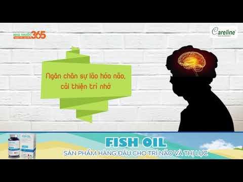 Fish Oil - Sản phẩm hàng đầu cho trí não và thị lực