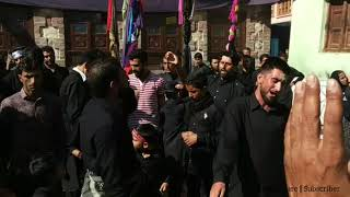 9th Muharram || historical Juloos from kand Mohalla Dal to Imambargah hassanabad ||. 2018