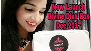 *New * Divine Diva Box Dec 2017 @ 649 | Products worth 2200+ | Unboxing & Review