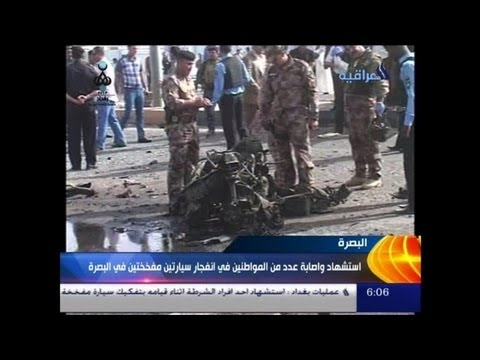 Deadly car bombs rock Iraqi capital and Bosra