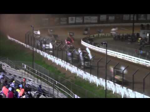 Williams Grove Speedway All Star Sprint Car Highlights 4-24-15