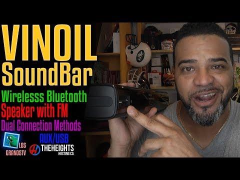 Vinoil Wireless Bluetooth Soundbar  🔊 : LGTV Review