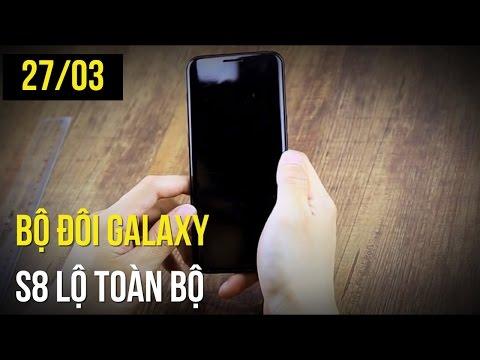 Galaxy S8  Và S8 Plus Lộ Sạch Sành Sanh Trong Video Mới, Bộ đôi HTC U Bất Ngờ Giảm Giá Sốc