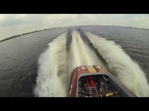 Riva Aquarama Lamborghini Test video