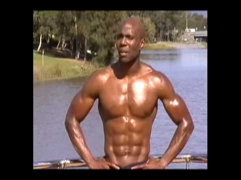 WBFF Pro Obi Obadike International Supplement Ad Shoot For PowerZone Nutrition- Part 2