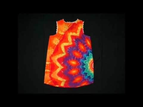 New Tie Dye Designs by Grateful Dan Video