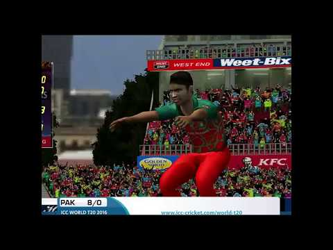 M Hafeez 101 Runs of 47 Balls vs Bangladesh - EA CRICKET 18 |