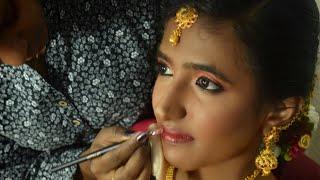 South Indian Bridal Muhurtham Makeup Look!
