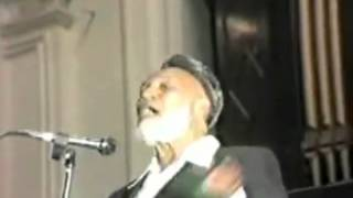 Ahmed Deedat Answer – Jesus is the Son of God and the prophecy in Psalms