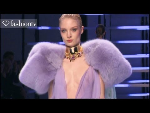 Alexandre Vauthier Spring 2012 at Paris Couture Fashion Week ft Constance Jablonski | FashionTV FTV