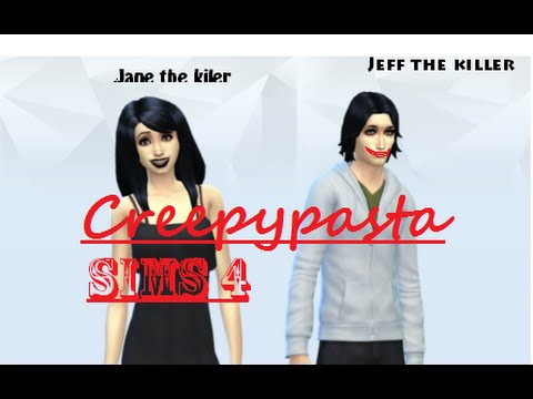 Video Making Jeff and Jane the Killer in Sims 3 (4M 27S)