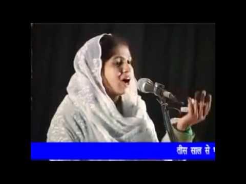 MUSHAIRA RAHI BASTAWI-NIKHAT AMROHI TERI PAYAL KI ZANKAR  HAJIR...
