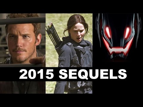 Top Ten Movies of 2015 : Mockingjay, Avengers 2 Age of Ultron, Jurassic World - Beyond The Trailer