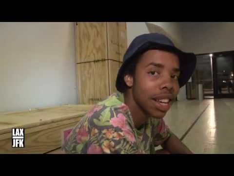LAX-JFK X EARL SWEATSHIRT JAYLIP INTERVIEW