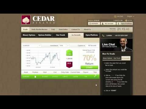 Buy / Invest In Gold, Forex at Cedar Finance. How To Make Solid Profit Each Day !