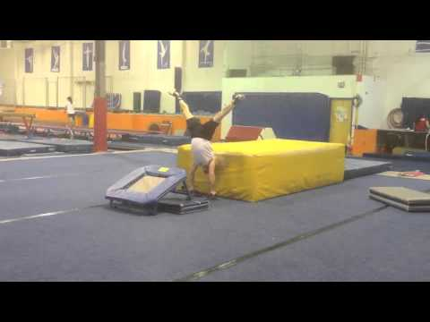 Adult gymnastics with Coach Lex in Philadelphia PA