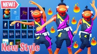 """*New* Leaked World Cup Fishstick Style Fortnite !  """"World Cup Skin"""""""