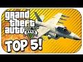Top 5 LUCKY ESCAPES in GTA 5! (Episode #15)