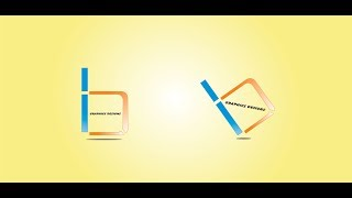 Coreldraw x7 Tutorial | How to make HB - Logo Design With New Look by Graphics Designs