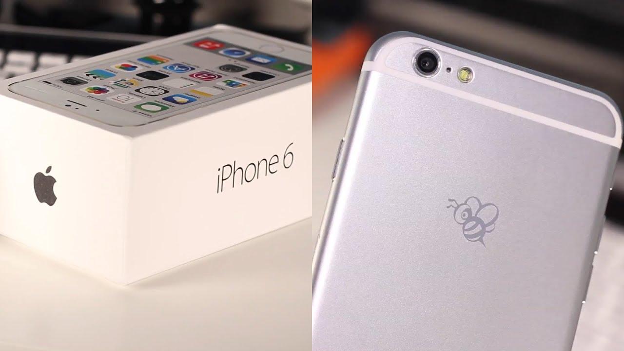 Goophone i6 Unboxing! (iPhone 6 Clone) - YouTube