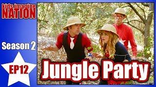 """Jungle Party"" Music Video   Kids Imagine Nation   Children's Music"