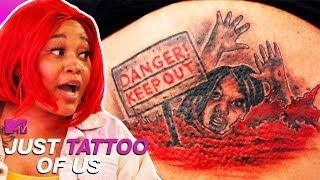 This Tattoo Doesn't Mean What You Think It Does | Most Tearful Reactions | Just Tattoo Of Us