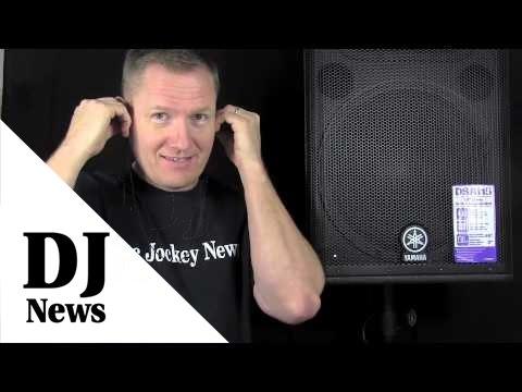 Yamaha DSR 115 on the Kill-A-Watt: By John Young of the Disc Jockey News