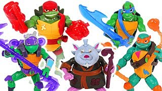 Rise of the Teenage Mutant Ninja Turtles transform! Defeat pirates and dinosaurs! #DuDuPopTOY