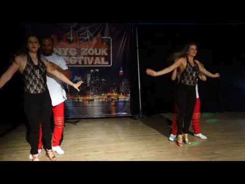 00124 NYCZF2016 Kendra's Miami dance group performance ~ video by Zouk Soul