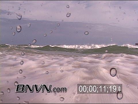 7/9/2005 Hurricane Dennis Video. Pre Storm Video, Pensacola Beach