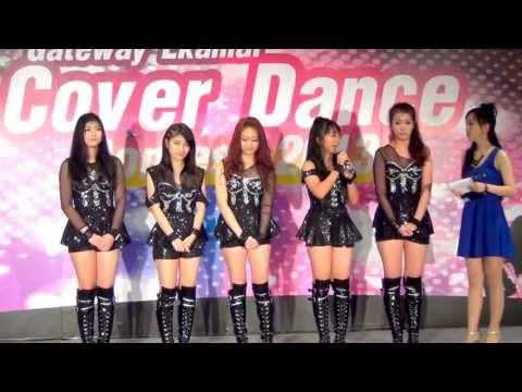 130616 [Talk] DeliKiss cover KARA @Gateway Ekamai Cover Dance Contest 2013 (Audition)
