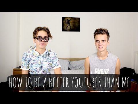 How To Be A Better Youtuber Than Me | ThatcherJoe