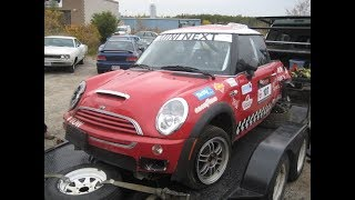 2004 Mini Cooper S Race Car build project