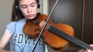 Sword Art Online 2 Opening -Ignite by Eir Aoi - Viola Cover