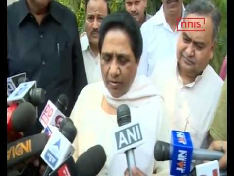Bsp's Support Is With CongressIn U'khand Assembly  Mayawati