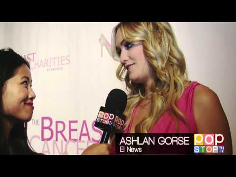 Celebs Talk Breast Cancer Awareness @ Fashion Fights Breast Cancer Runway Show & Fundraiser