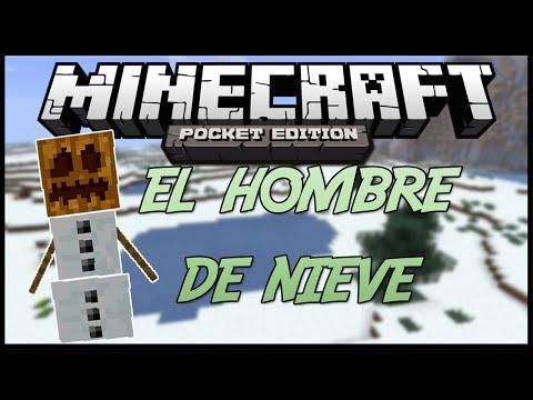 Minecraft PE: PARKOUR EL HOMBRE DE NIEVE