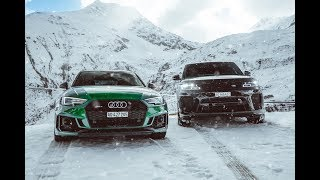 Range Rover SVR 2019 vs Audi RS4 | Mountain Pass Drive