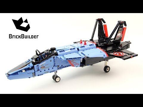 Lego Technic 42066 Air Race Jet - Lego Speed Build
