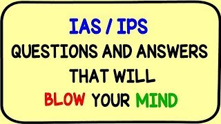 Most Brilliant IAS Interview Questions with Answers | IPS/UPSC | Learn With Riya