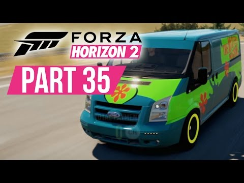 Forza Horizon 2 Gameplay Walkthrough Part 35 - FULLY UPGRADED FORD TRANSIT