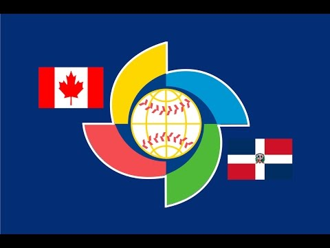 2017 World Baseball Classic: Dominican Republic vs Canada Highlights