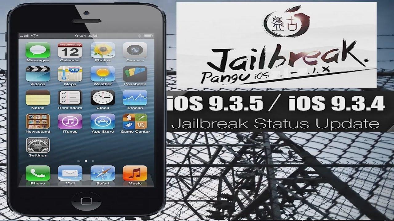 Как сделать jailbreak ios 9.3.5 ipad 2