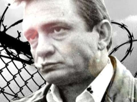 "Johnny Cash  ""I Hung My Head"""