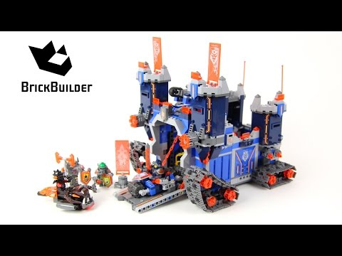Lego Nexo Knights 70317 The Fortrex - Lego Speed Build
