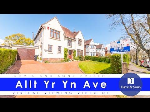 Davis & Sons Virtual Viewing of Allt Yr Yn Ave, Newport