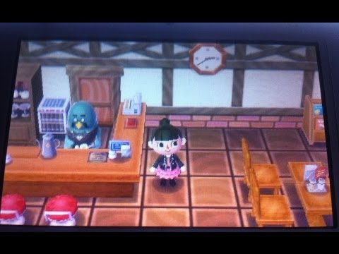 Animal crossing new leaf : Travailler au café !