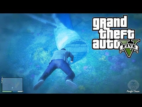 GTA 5: How To Get $12.000 Every Minute! Hidden Underwater Package Location (Grand Theft Auto V)